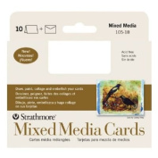 6 Pack Mixed Media Announcement Size Cards (Product Catalogue