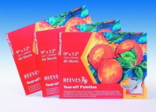 Reeves Tear-Off Palette Paper Pad with 40 Sheets, 23cm by 30cm