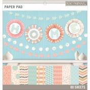 Basics 30cm x 30cm Paper Pad 80/Pkg-Pastels, 20 Designs/4 Each