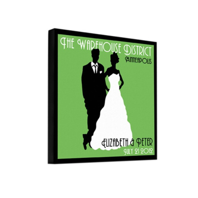Personalised JDS Gifts Home Party Decor Couples Studio Canvas (multiple images)