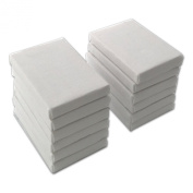 LWR Crafts Mini Stretched Canvas 5.1cm X 7.6cm Pack of 12