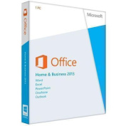 Microsoft Office Home and Business 2013 32/64bit English with DVD Media 1 User 1 Install
