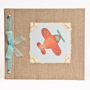 Hugs and Kisses XO Aeroplane Baby Memory Book