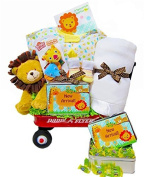 New Arrival in the Jungle | Gender Neutral Baby Shower Gift Waggon