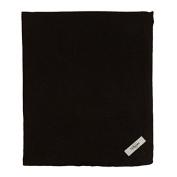 My Blankee Cotton Swaddle Baby Blanket, Black, 120cm X 120cm