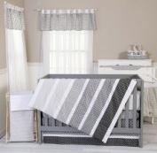 Trend Lab Ombre Grey 8-Piece Nursery Crib Bedding Set