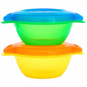 Munchkin, Toddler Bowls, 2 Bowls