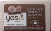 Yes to Coconut Hydrate and Restore Milk Bar Soap, Coconut, 210ml