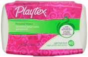 Playtex Personal Cleansing Cloths Tub Dispenser, 40 Count Box - 1 Pack