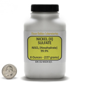 Nickel Sulphate [NiSO4] 99.9% ACS Grade Crystals 240ml in a Space-Saver Bottle USA