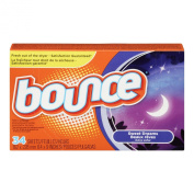 Bounce Sweet Dreams Fabric Softener Dryer Sheets, 34 sheets