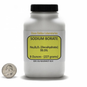 Decahydrate Borax [Na2B4O7.10H2O] 99.9% ACS Grade Powder 240ml in a Bottle USA