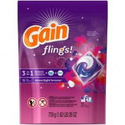 Gain Flings! 3 in 1 Detergent + Oxi Boost + Febreze Freshness, Moonlight Breeze Laundry Detergent, 770ml