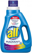 all Liquid Laundry Detergent, Radiant, 1380mls, 24 loads