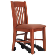 Royal EZ Series Assistive Chair - Cherry Wood with 46cm Vinyl Seat