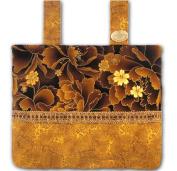 Imperial Hazelnut - Gorgeous Browns & Gold, Functional Walker Bag