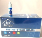 Oralabs Ice Drops Instant Fresh Breath Icy Mint Whole Box of 50