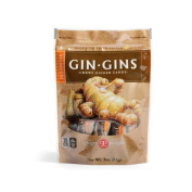 Ginger People Gingins Chewy Hot Coffee Bags - Case of 24 - 90ml