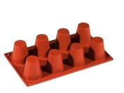 Formaflex Silicone Mould - Baba Large - 8 Cavity