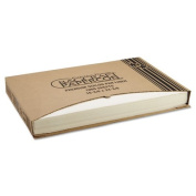 Bagcraft Papercon 25Q1 Premium Grease-Proof Quilon Pan Liners, 16 3/8 x 24 3/8, Natural - Includes 1000 per case.