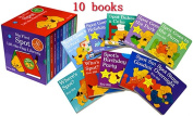 My First SPOT Lift-the-Flap Library 10 Books Set Eric Hill Cardboard Slip Case