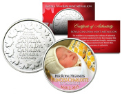 Her Royal Highness PRINCESS CHARLOTTE of Cambridge Royal Canadian Mint Medallion