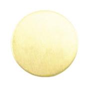 ImpressArt, Circle, Brass, 2.2cm Stamping Blanks- 24 pc.