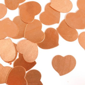 ImpressArt, Swirly Heart, Copper, 1.9cm Stamping Blanks- 24 pc.