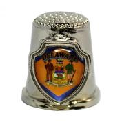 Souvenir Thimble - Delaware