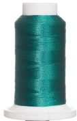 1M-3545 BFC Poly Machine Embroidery Thread, 40 Wt, 1000m, DKST Teal