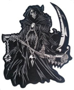 Reaper Embroidered Back Patch 29CM x 30CM