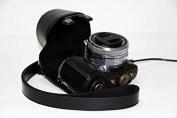 Protective Leather Case Bag for SONY Alpha NEX 5, NEX-5T, NEX-5TL, NEX-5C, NEX-5N, NEX-5R Digital Camera