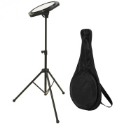 On-Stage DFP5500 Drum Practise Pad with Stand & Bag