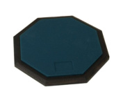 20cm Practise Drum PAD Silent Rubber Foam Octagon Percussion Green