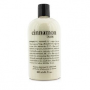 Cinnamon Buns Shampoo, Shower Gel & Bubble Bath, 480ml/16oz