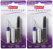 The Doctor's Brand Traveller Plaque and Tartar Remover - 2 ct - 2 pk