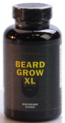 Beard Grow XL | Facial Hair Supplement | #1 Mens Hair Growth Vitamins | For Thicker and Fuller Beard