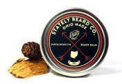 Stately Beard Co. - Sandalwood Fir Beard Balm - All Natural and Organic, 60ml