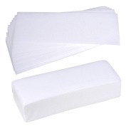 100pcs Hair Removal Depilatory Wax Strip Non-Woven Paper Waxing Skin Salon Spa