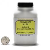 Potassium Alum [KAl(SO4)2] 99% ACS Grade Powder 240ml in a Space-Saver Bottle USA