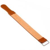 Genuine Leather Strop/Belt Barber shaving Pro Straight Razor Sharpener