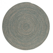 Tremont Round Area Rug, 1.8m by 1.8m, Teal