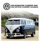 The Official VW Camper Van 2016 Desk Easel Calendar