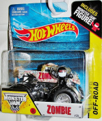 Zombie New Truck 2014 Hot Wheels Monster Jam 1:64 Scale Off Road Truck #20