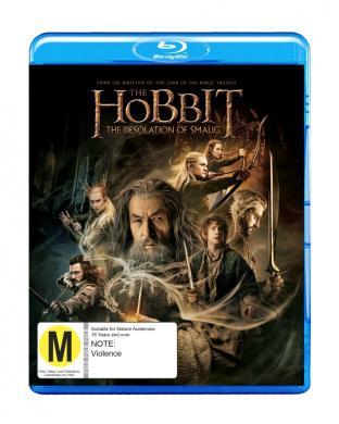 Hobbit Desolation of Smaug BD [Blu-ray]