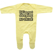 Bang Tidy Clothing Baby Boy's If I'm Not Sleeping No One Is! Rompersuit