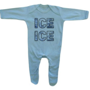 Bang Tidy Clothing Baby Boy's Ice Ice Baby Rompersuit