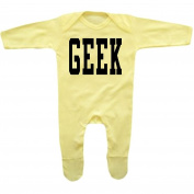 Bang Tidy Clothing Baby Girl's GEEK Rompersuit