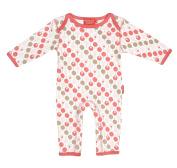 Ella & Otto Baby-Girls Organic Sleepsuits Lollipop Tearose Sleepsuit