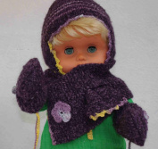 Baby set including hat, scarf and gloves